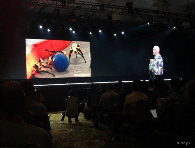 Boston Dynamics предложил устраивать битвы боевых роботов