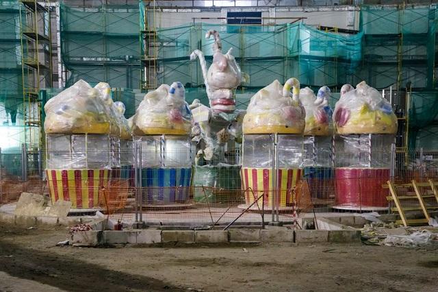 В Нагатинской пойме построят крупнейший в Европе крытый тематический парк (33 фото)