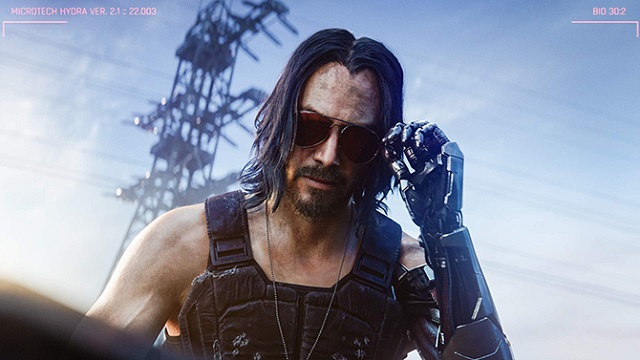 Киану Ривз появится в игре Cyberpunk 2077 (2 видео)