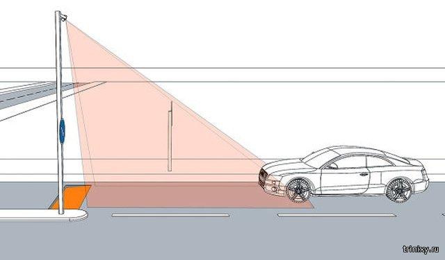 """В Германии будут бороться с превышением скорости на дорогах при помощи специальных """"ловушек"""""""