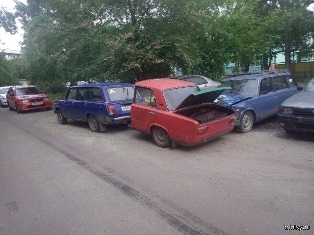 """Многофункциональный """"кемпер"""" или полтора автомобиля? (5 фото)"""
