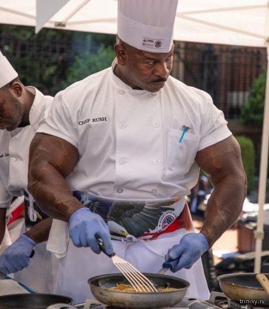 Новый мем: Шеф-повар Белого дома Андре Раш (14 фото)