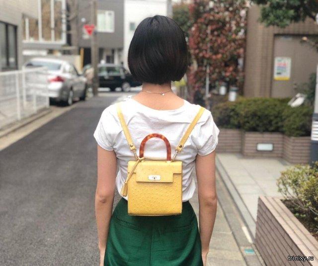 Как правильно носить женскую сумочку (3 фото)