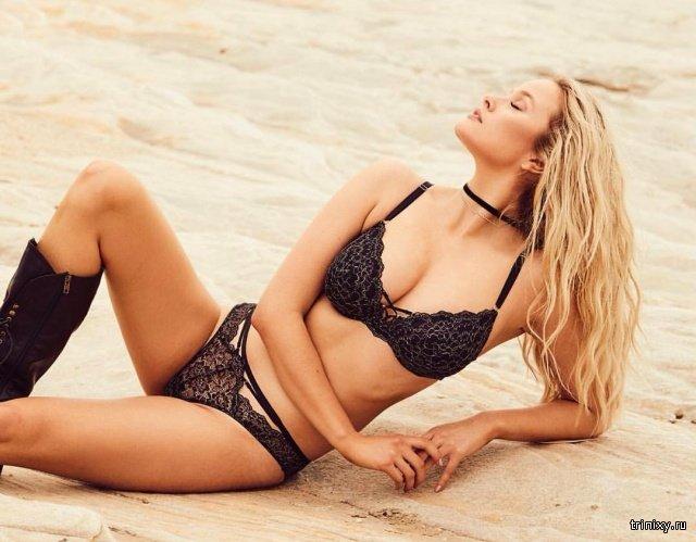 """Модель Playboy Симона Холцнагель: """"Большая грудь - это отстой"""" (15 фото)"""