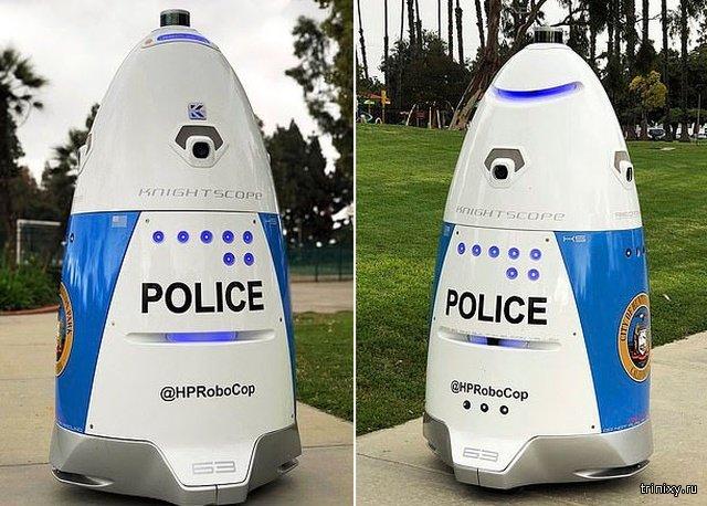 """Полиция Калифорнии показала нового """"робокопа"""" (4 фото + видео)"""