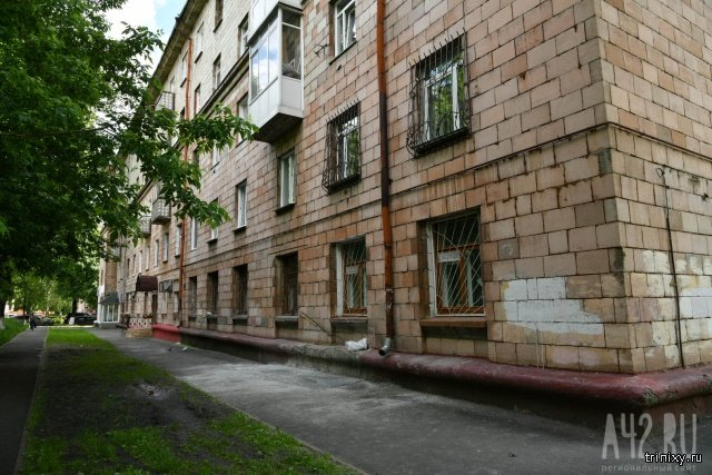 В Кемерово забетонировали вход в альпинистский клуб (5 фото)