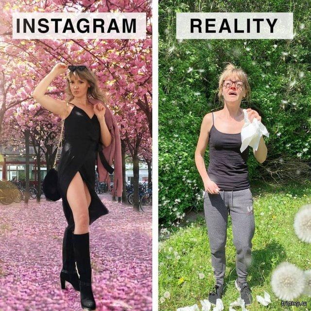 Блогер из Германии показывает, как выглядит жизнь за пределами Instagram (15 фото)