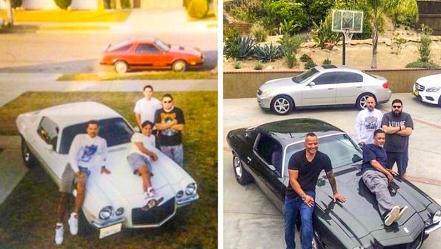 Флешмоб: повторить старые снимки из семейного альбома, чтобы на секунду вернуться в прошлое (25  фотографий)