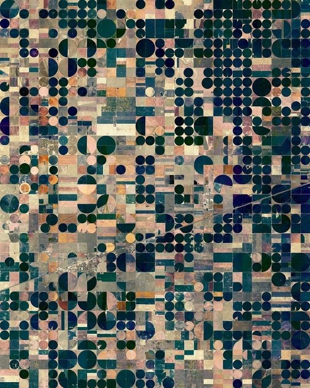 Dünyanın Yakınlaştırılmış Uzaydan Çekilmiş Fotoğrafları