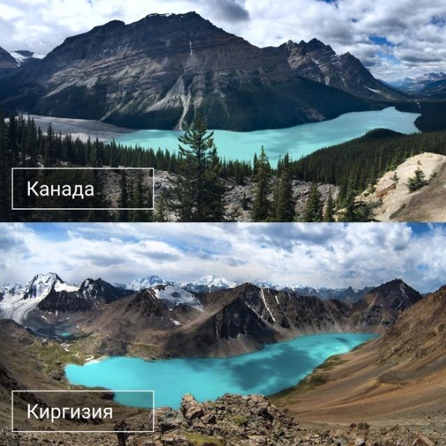 Киргизия и другие страны мира (7 фото)