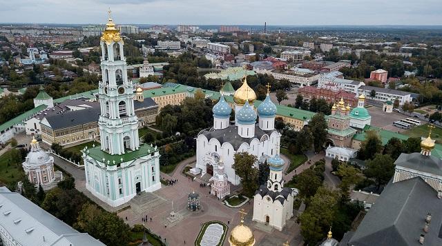 РПЦ планирует сделать из Сергиева Посада православный Ватикан за 140 млрд рублей