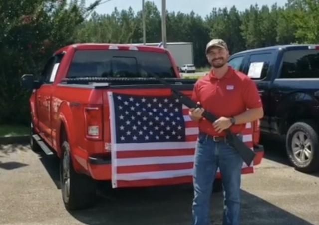 Интересный подарок при покупке автомобиля в Алабаме (3 фото)