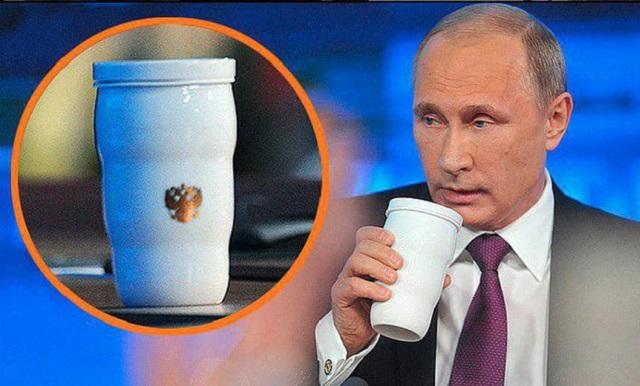 На ужин лидеров G20 Владимир Путин принес свой термос (2 фото + видео)