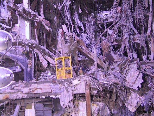В интернет попал архив неизвестных ранее фотографий последствий теракта 11 сентября (53 фото)