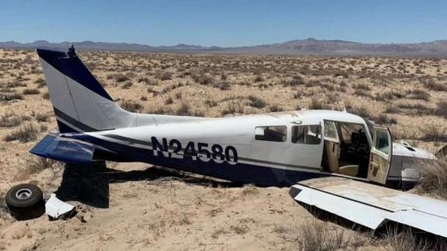 Аварийная посадка самолета от первого лица (2 фото + видео)