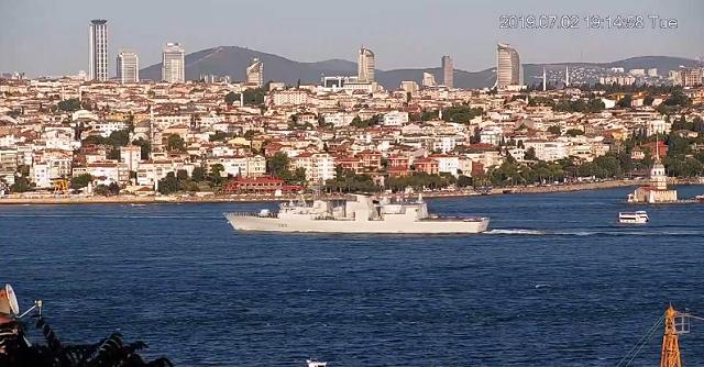 Видео: В Черное море зашли натовские корабли (2 видео)