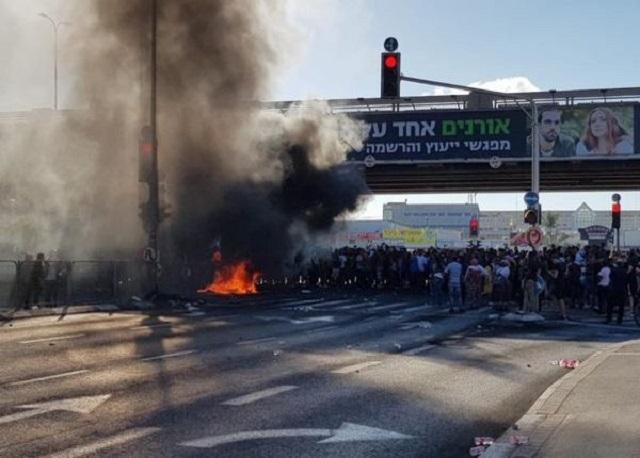 В Израиле проходят акции протеста эфиопской общины (3 видео)