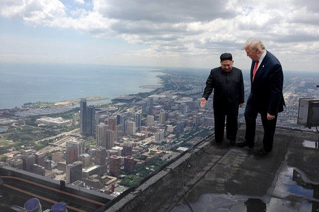 Встреча Дональда Трампа и Ким Чен Ына разлетелась на мемы (19 фото)