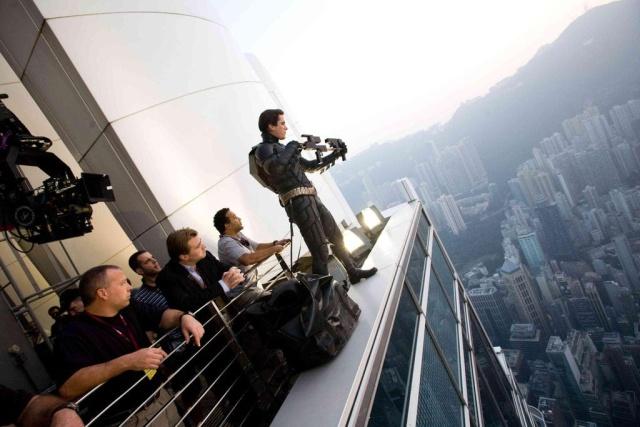 За кадром знаменитых фильмов (17 фото)