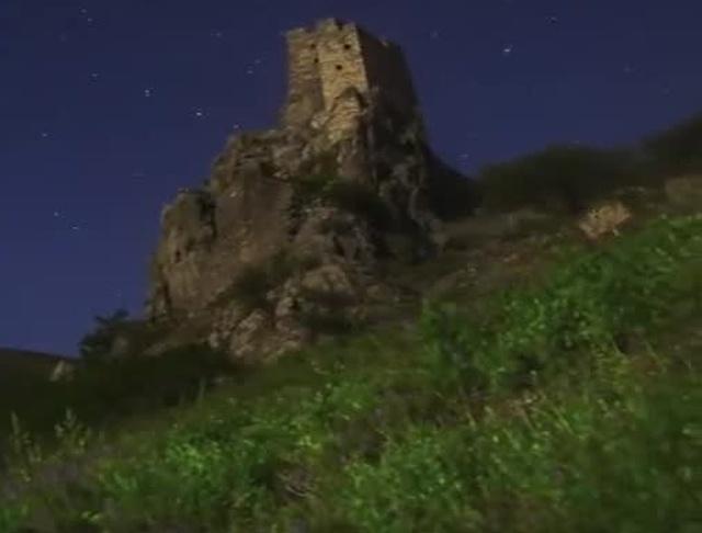 Таймлапс «Звёздная дорога гор»