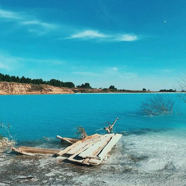 Зачем лететь на Мальдивы, если есть Новосибирск? (17 фото)