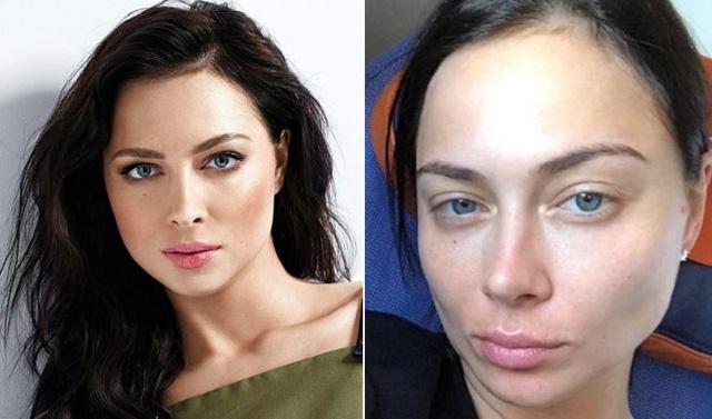 Наши знаменитости без макияжа (16 фото)