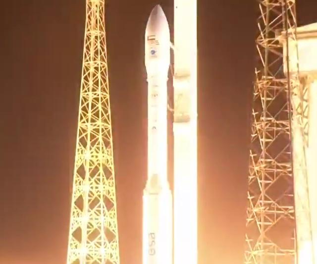 Неудачный запуск ракеты Vega