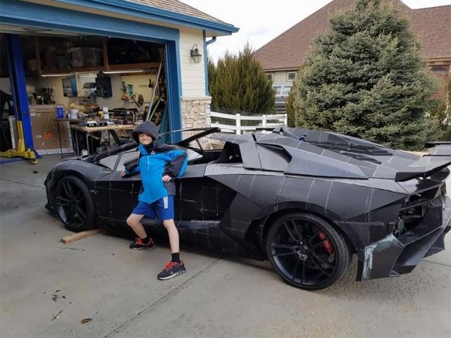Lamborghini Aventador, распечатанный на 3D-принтере (18 фото)