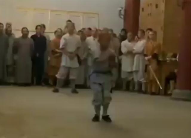 Достойный ученик Шаолиня