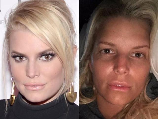 Знаменитости без макияжа (35 фото)