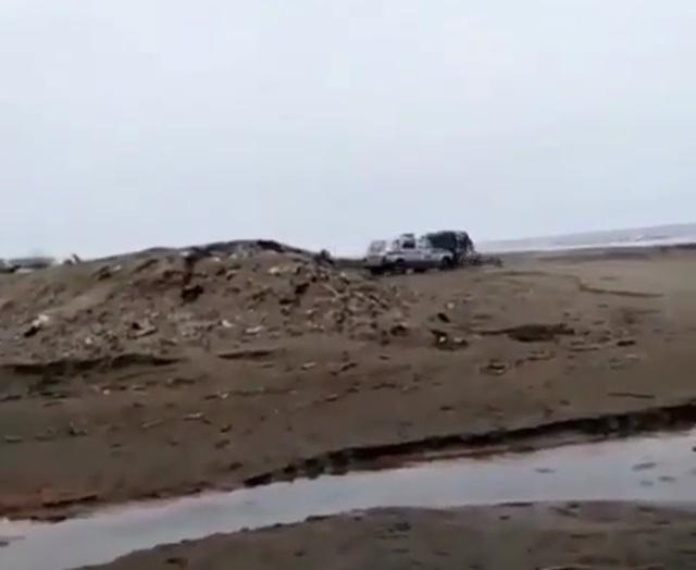 На Сахалине сотрудники ДПС пошли на таран