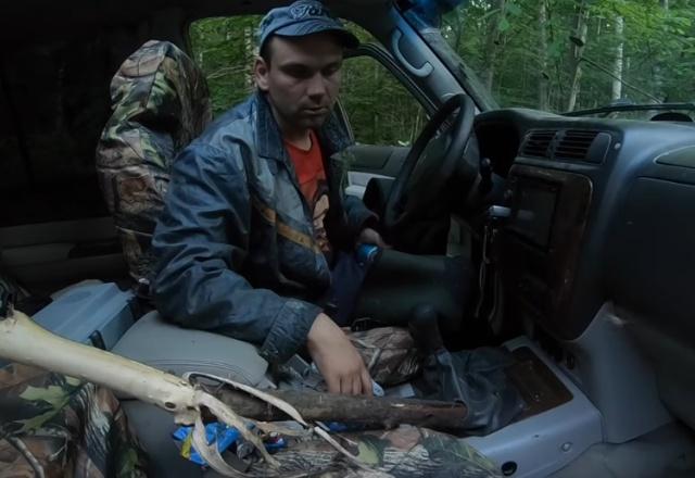Нижегородским джиперам повезло во время экспедиции в лагерь ГУЛАГ (2 фото + видео)