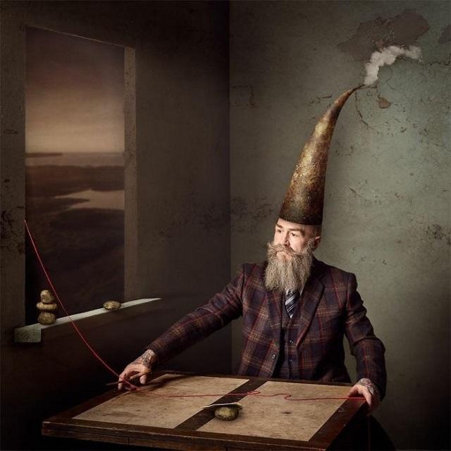 Пип Джентльмен - мужчина из Англии, который стал успешной моделью после 50 лет (20 фото)