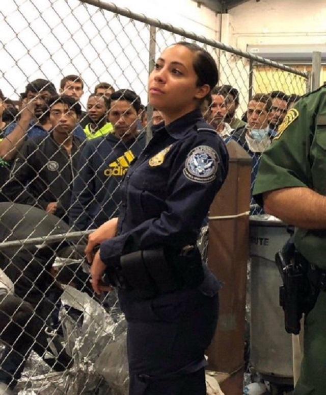 В США нашли самую красивую пограничницу (2 фото + 3 скриншота)