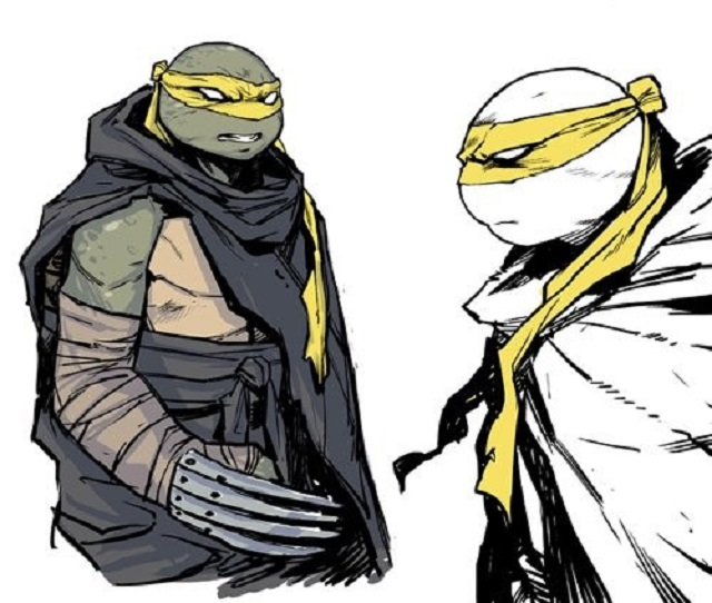У Черепашек-ниндзя появится новый герой женского пола (3 картинки)