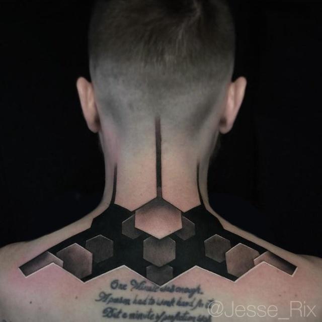 Потрясающие 3D-татуировки (30 фото)