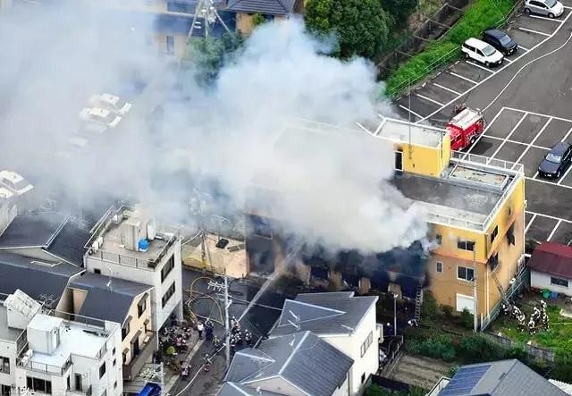 В Японии мужчина поджег аниме-студию. Погибло 10 человек