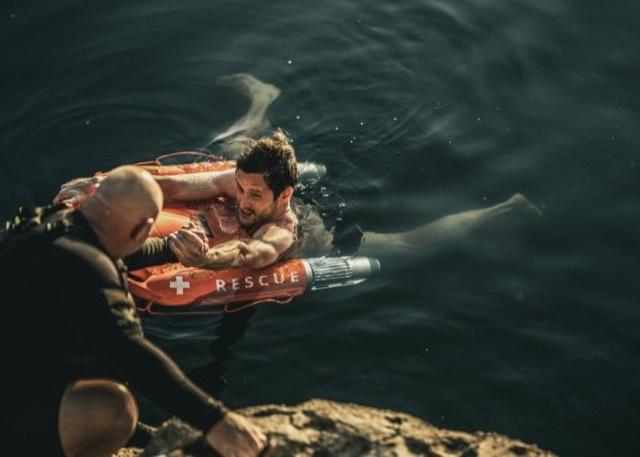Робот Dolphin1, который был создан, чтобы спасать жизни (7 фото)