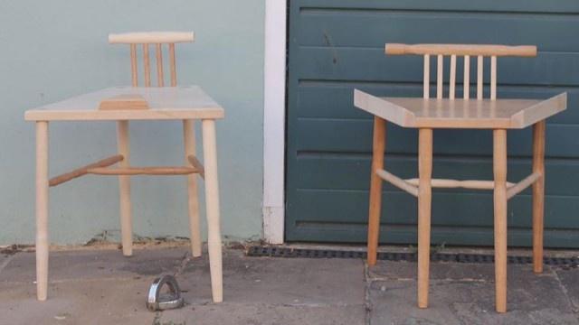 Феминистки разработали стулья для мужчин и женщин (3 фото)