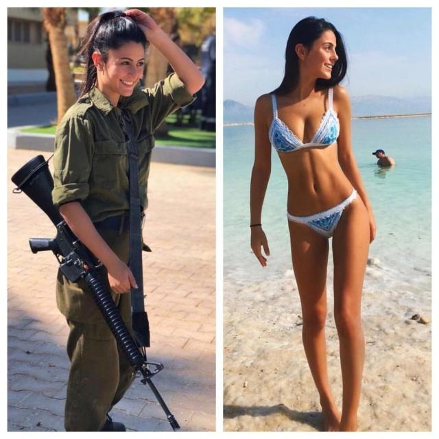 Шикарные девушки армии Израиля (35 фото)
