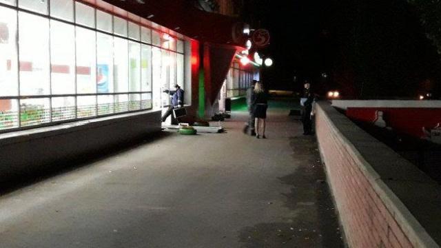 """Ограбление магазина """"Пятерочка"""" (2 фото + видео)"""