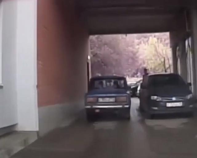 Погоня в стиле GTA в Кирово