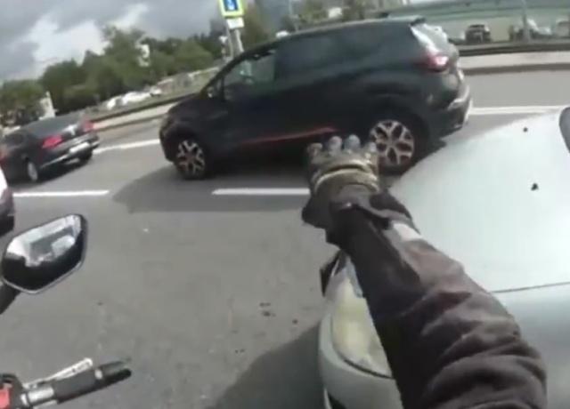 Мотоциклист, достойный уважения