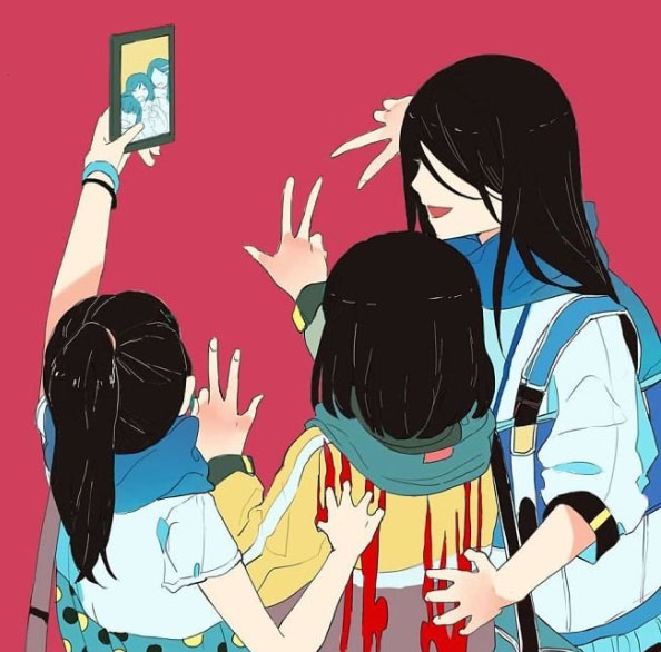 Социальные проблемы в рисунках Mimi N (22 фото)