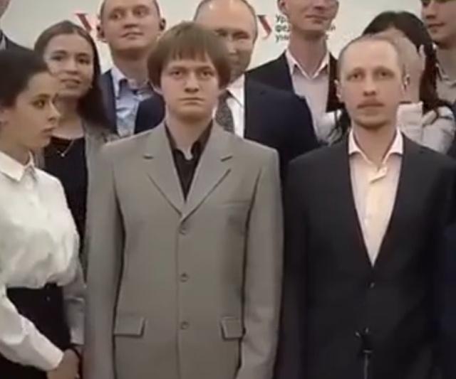 """Владимир Путин и """"слишком"""" высокий студент"""