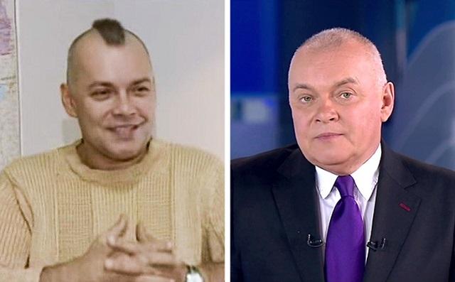Известные российские телеведущие в молодости (14 фото)