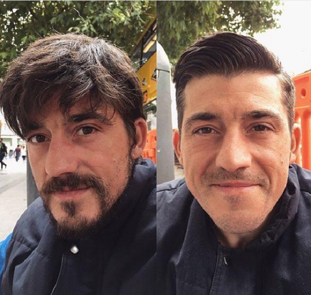 Барбер из Англии бесплатно стрижет бездомных и мотивирует их начать новую жизнь (24 фото)