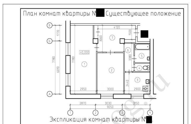 Перепланировка двухкомнатной квартиры в трехкомнатную, требования