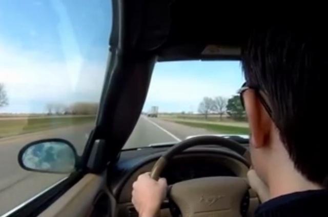 Водителю несказанно повезло