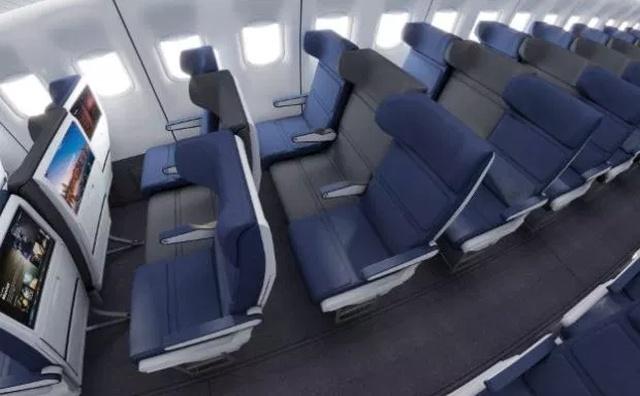 Новая разработка сидений для пассажиров самолетов (5 фото)